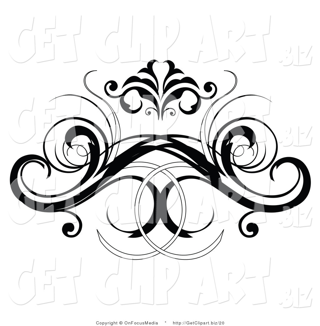 royalty free floral scroll stock get designs. Black Bedroom Furniture Sets. Home Design Ideas
