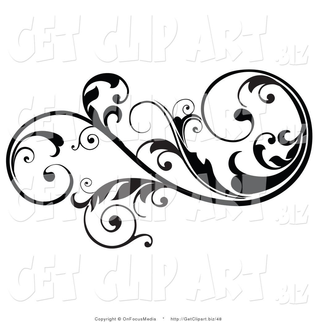 Clip Art Design : Royalty free stock get designs of scrolls