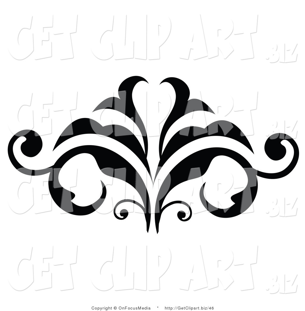 Scroll embellishment clipart jaxstorm realverse
