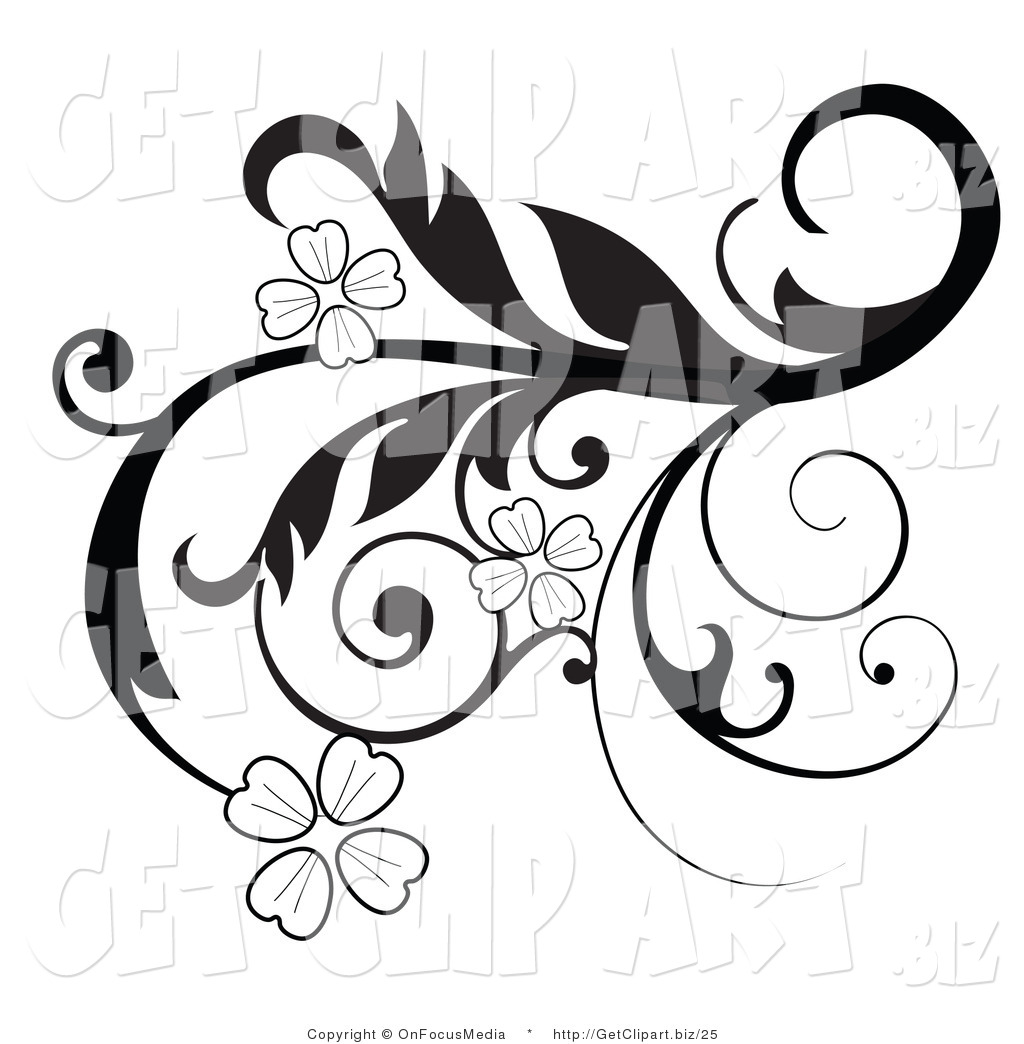Royalty Free Black and White Stock Get Clipart Illustrations