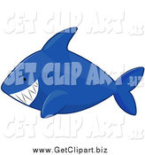 August 22nd, 2014: Clip Art of a Blue Shark by BNP Design Studio