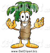 Clip Art of a Palm Tree Guy by Toons4Biz