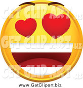February 13th, 2014: Clip Art of an Infatuated Emoticon by Beboy