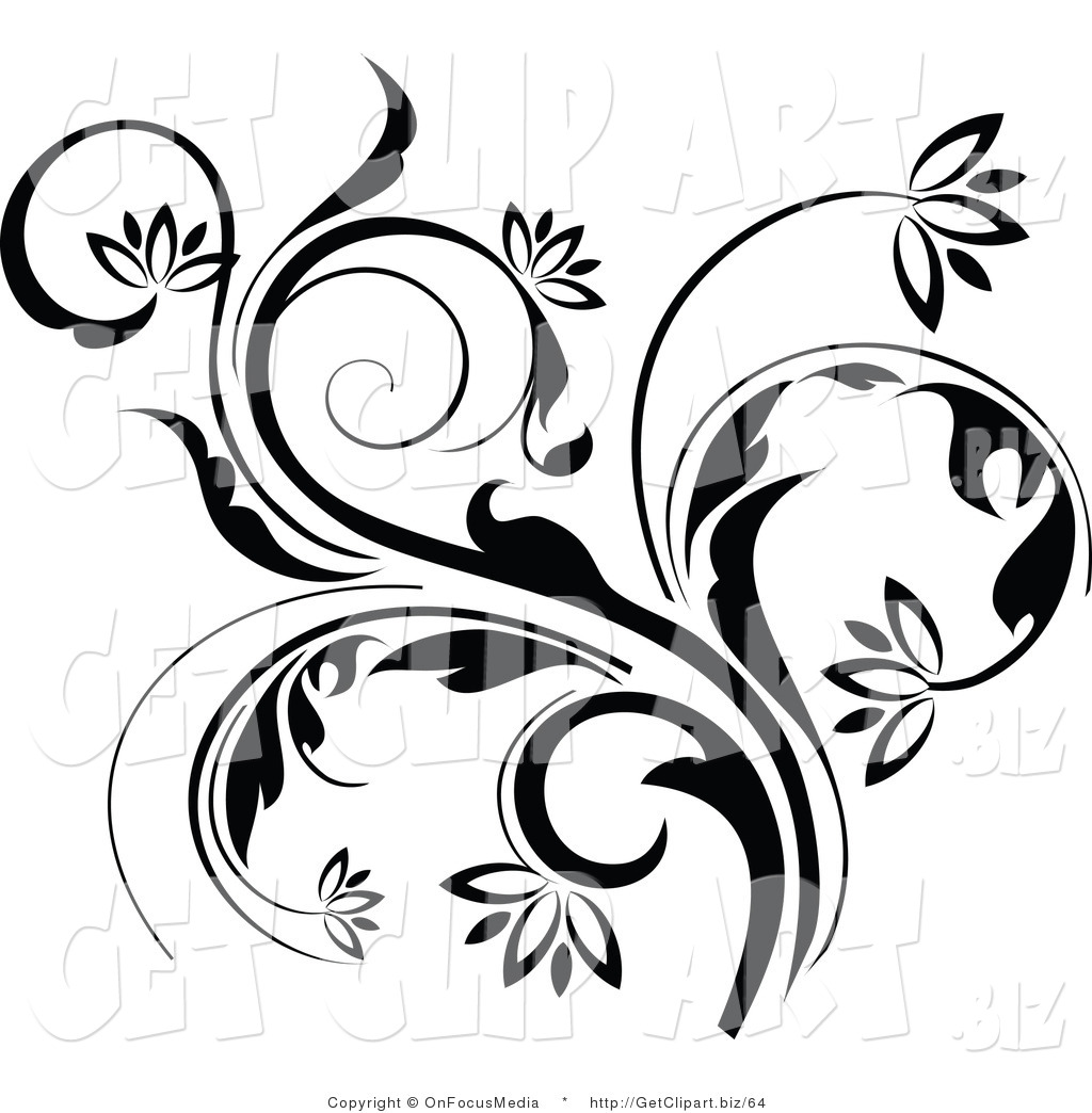 Vine Designs Art : Royalty free stock get designs of flowers